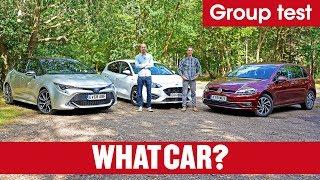 2019 Toyota Corolla vs VW Golf vs Ford Focus – is hybrid better than petrol or diesel? | What Car?