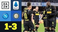 Napoli lädt Lukaku zum Toreschießen ein: Neapel - Inter 1:3 | Serie A | DAZN Highlights