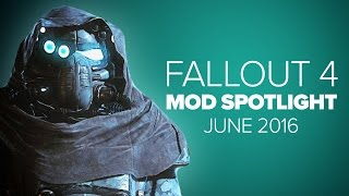 Fallout 4 Mod Spotlight - T-49 Power Armor, Vault Girl, Console Mods More June 2016