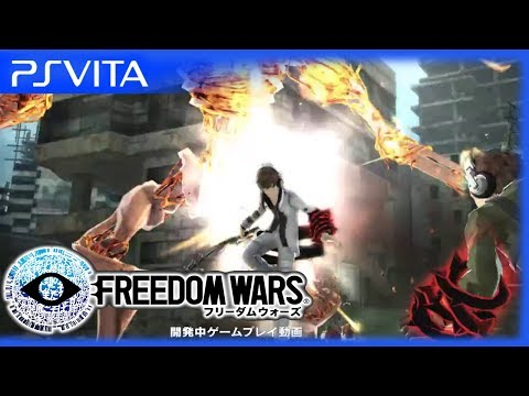 PS Vita - Freedom Wars - Official Gameplay Trailer