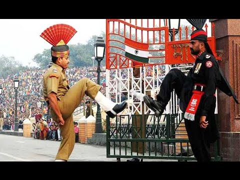Live : Beating Retreat ceremony at Wagah Border on Republic Day 2017