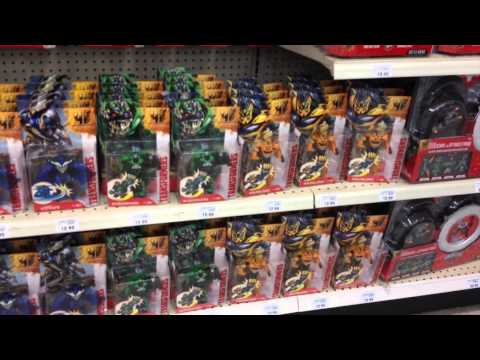Toys R US Trans4mers Transformers 4 Toy Run Shopping Transformers: age of extinction