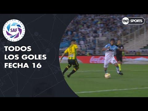 Todos los goles de la Fecha 16 - Superliga Argentina 2018/2019