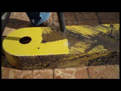 video:Dry Ice Blasting Clean a Lacquer Machine Part
