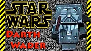 Как сделать из бумаги Darth Wader (Дарт Вейдер) из Звёздные войны:пробуждение силы - STAR WARS!