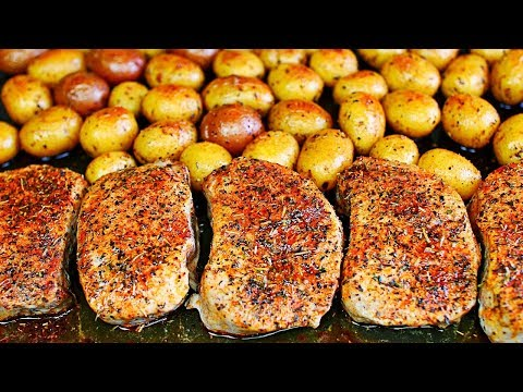 One Pan Ranch Pork Chops And Potatoes - Easy Pork Chops And Potatoes Recipe