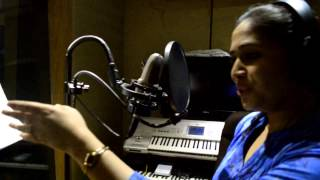 "Bela Shende Sings a Duet With |Sonu Nigam for | Alok Shrivastava's| Marathi Film ""MISS MATCH"""
