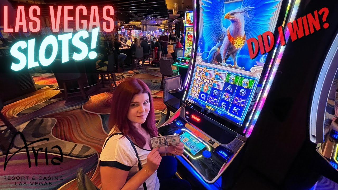 I Put $100 in a Slot at the ARIA Hotel - Here's What Happened! 🤩 Las Vegas  2021 - YouTube