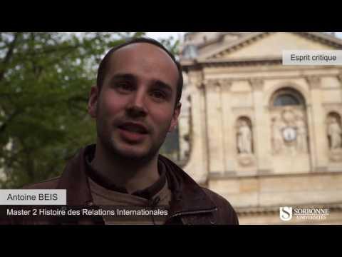 Portraits d'anciens étudiants de Paris Sorbonne