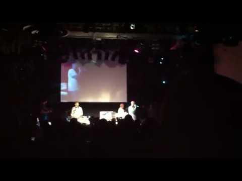 Klashnekoff performing live at UK DMC finals