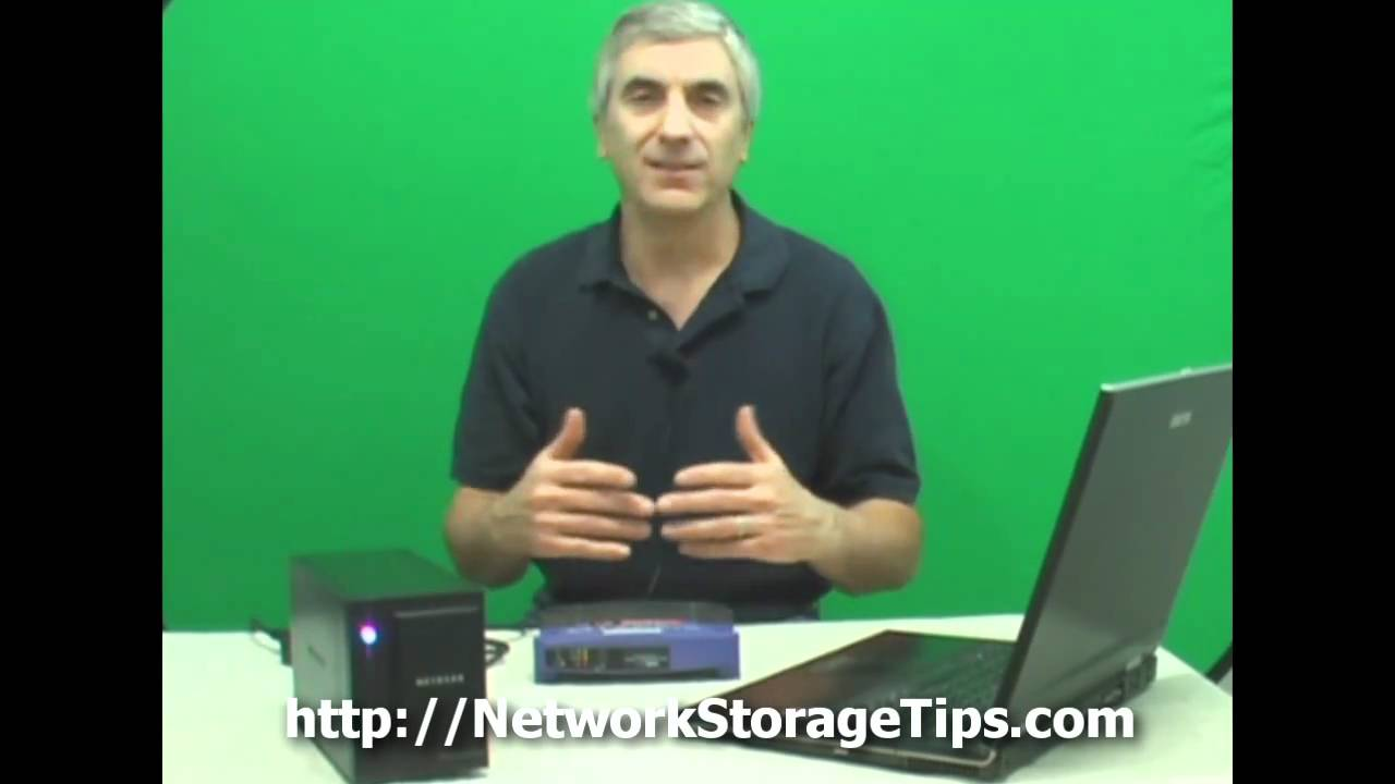 Netgear ReadyNAS Duo For Home Network Storage and Backup