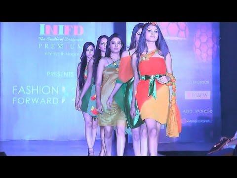 INIFD Hyderabad Fashion Institute  | Spring Summer 2015 | Hyderabad Fashion Forward 2014