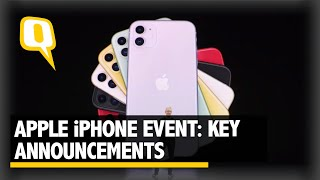 Apple Event Highlights: New iPhone 11 & Other Key Announcements