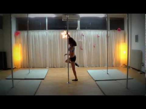 Pole Art Routine 39 - Level 2 (Chris Isaak - Baby Did A Bad Bad Thing)