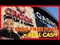 TURNING CASINO FREE PLAY INTO CA$H @ Graton Casino | NorCal Slot Guy