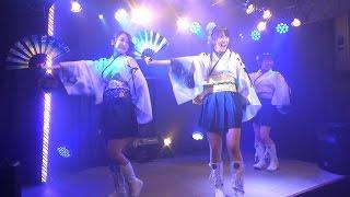 きゅーアイ的な歌祭 Vol.8」での福岡の和のアイドルユニット「ふくおか...