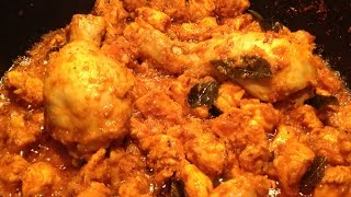 Chicken Curry Without Tomato - Indian Chicken Curry Without Tomatoes - Chicken Curry - No Tomato