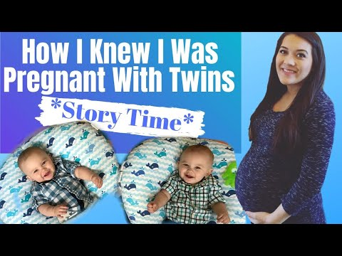 HOW I KNEW I WAS PREGNANT WITH TWINS *STORY TIME* | TWIN PREGNANCY SYMPTOMS AND SIGNS