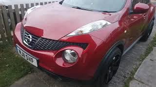 "2011 Nissan Juke Accenta 1.6 with gloss black 19"" Bola B1 alloy wheels"