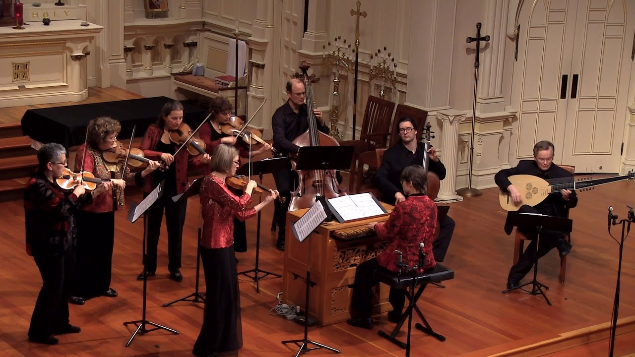 J.S. Bach: Violin Concerto in A Minor BWV 1041; Carla Moore & Voices of Music , Allegro 4K UHD
