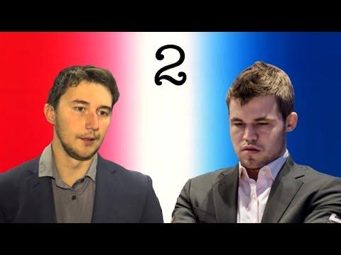 Sergey Karjakin vs Magnus Carlsen | 2016 World Chess Championship | Game 2