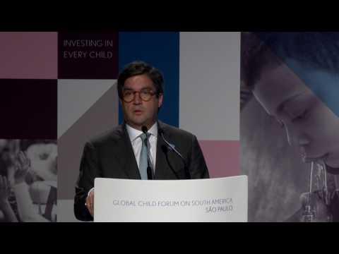 Luis Alberto Moreno, Inter-American Development Bank - Global Child Forum on South America 2017