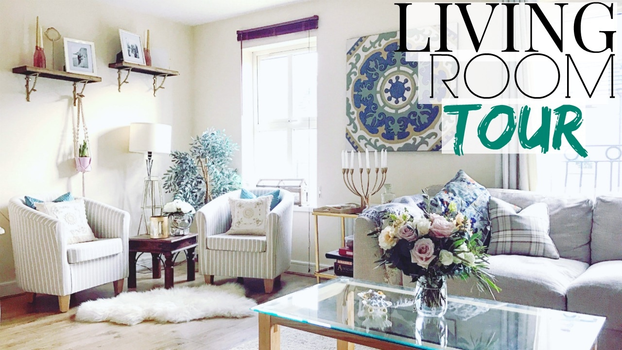 LIVING ROOM TOUR || McGowan Home - YouTube