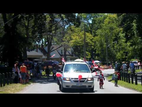 Jeep In The Canada Day Parade Sarnia Parade
