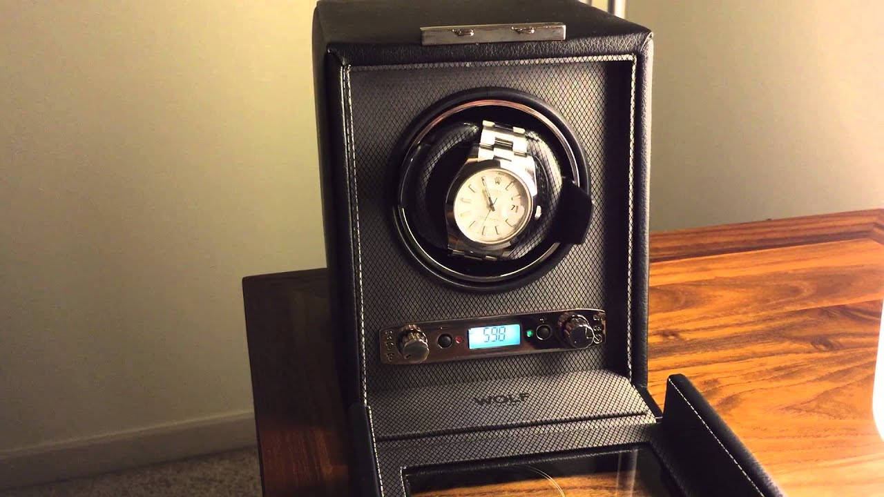 wolf design module 2 7 watch winder youtube