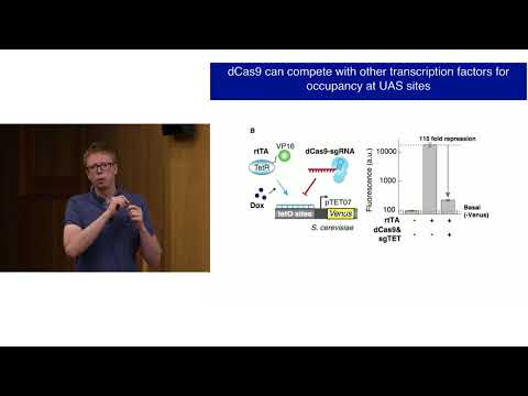 Luke Gilbert: Repurposing CRISPR as an RNA-guided DNA binding platform