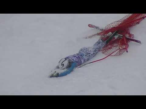 Zauchensee Ski Crash -- Slalom Tokyo Drift