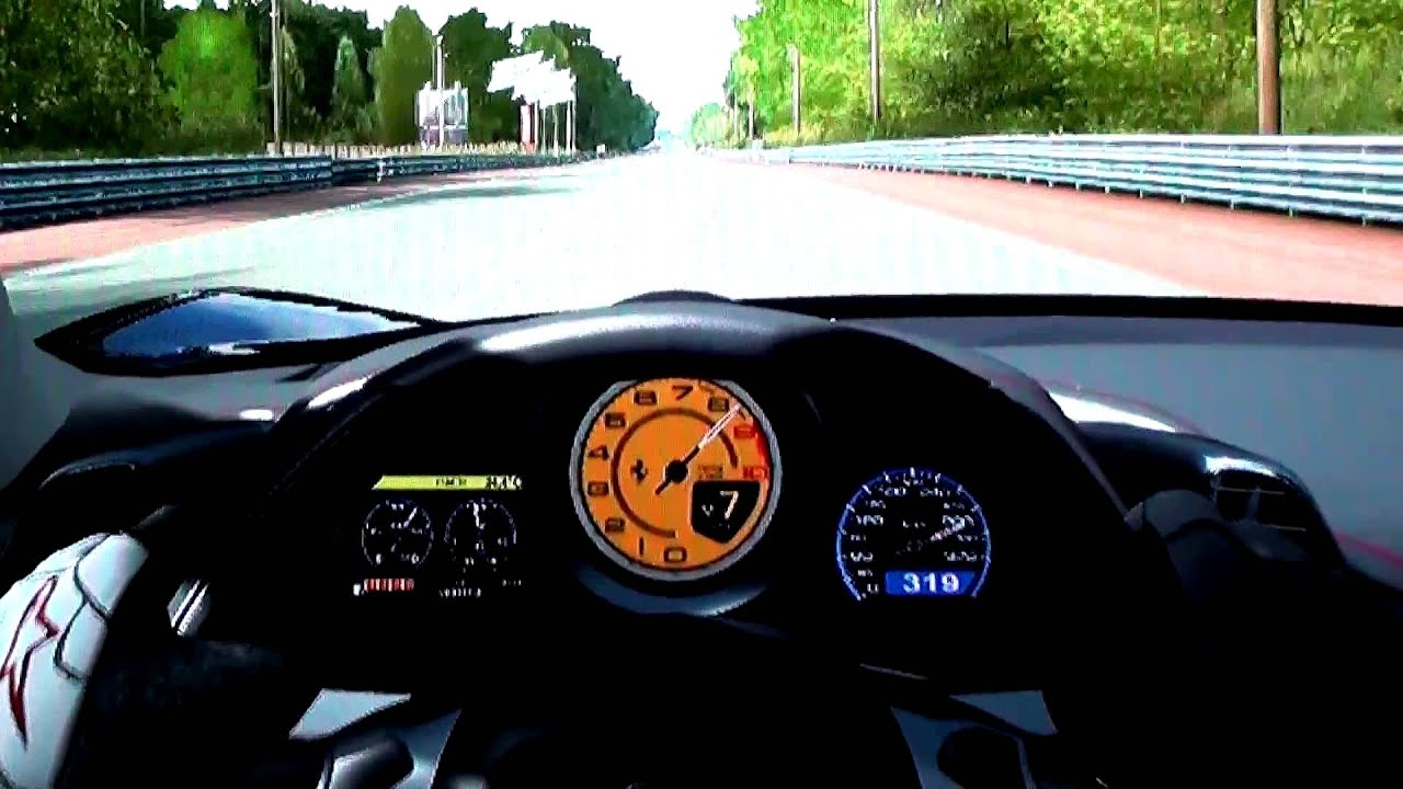 Ferrari 458 Italia Topspeed Run - 344 km/h (214 mp/h) - Forza ...