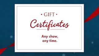 Grand Theatre Gift Certificates