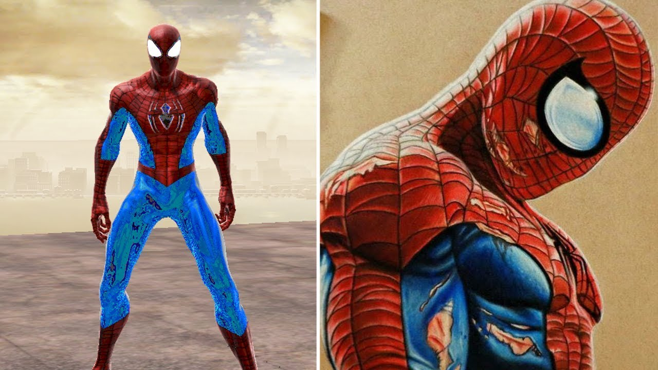 Spider Man Edge Of Time Alternate Suits (47)++ Photos on Thi