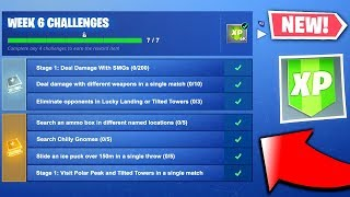 Fortnite Season 7 Week 6 Challenges LEAKED - ALL Season 7 Week 6 Challenges (Fortnite Challenges)