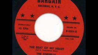 CORDELLS - THE BEAT OF MY HEART - BARGAIN 5004 - 1962