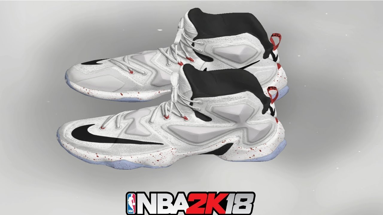 NBA 2K18 Shoe Creator ⋆#NBA2K18⋆ LeBron 13 Friday The 13th