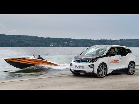 Torqeedo Boat with BMW i3 Batteries
