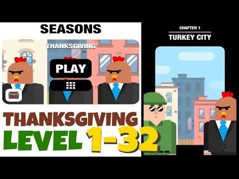 Mr Bullet SEASONS THANKSGIVING Level 1-32. 3 Stars