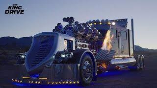 Самый мощный и дорогой тягач в мире c 28-литровым двигателем!!!