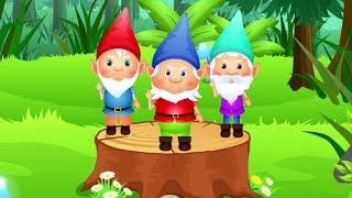 Animowany teledysk dla dzieci o krasnoludkach