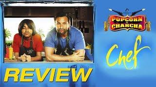 Chef Review |  Saif Ali Khan | Padmapriya Janakiraman | Popcorn Pe Charcha | Amol Parchure | ADbhoot