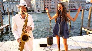 ALL BY MYSELF - Daniele Vitale feat. Benedetta Caretta (Sax & Voice) in Venice