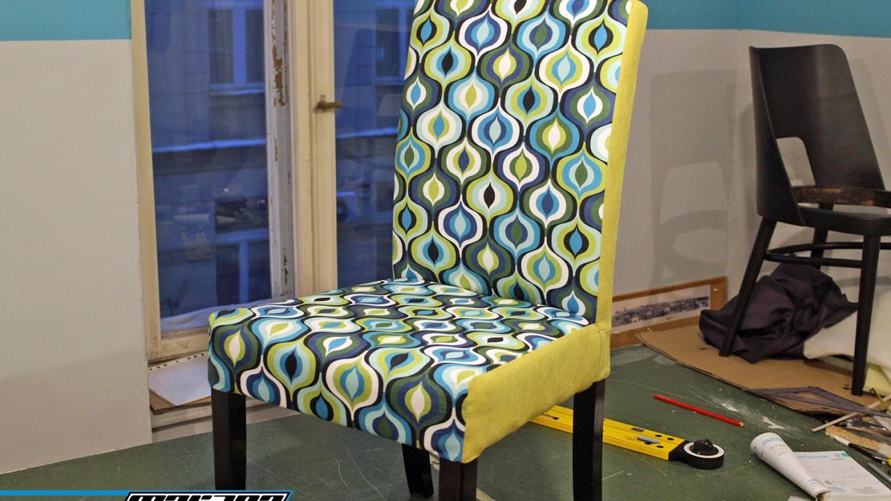 Tapicerowanie Odnowa Krzesła Z Sieciówki