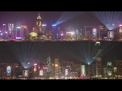 A Symphony of Lights ( winter edition 2018) Hong Kong Island
