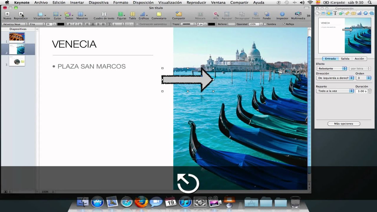 how to add a video on keynote