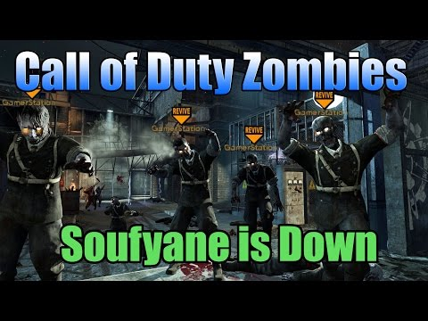 Call of Duty Zombies - Soufyane is Down Ft. GamerStation (NL FUNNY MOMENTS)