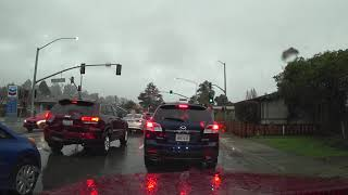 США 5527: Под дождем в Санта Круз - едем в Костко
