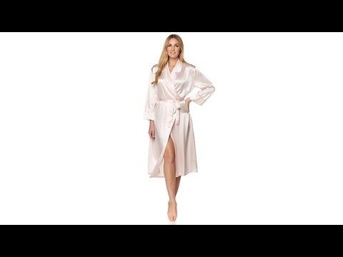 Concierge Collection Platinum Silk Robe. http://bit.ly/327kbRO