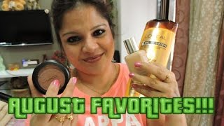 AUGUST FAVORITES!!! Thumbnail